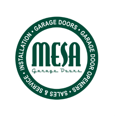 mesa garage doors logo