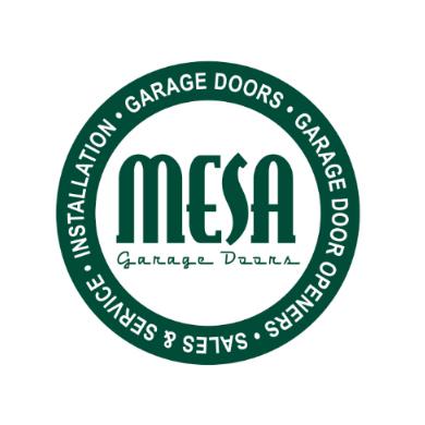 mesa garage doors logo